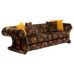 Elegant Italian Design Sofa Free Standing