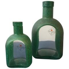 Elegant Italian Midcentury Perfume Bottles Signed by Barovier & Toso