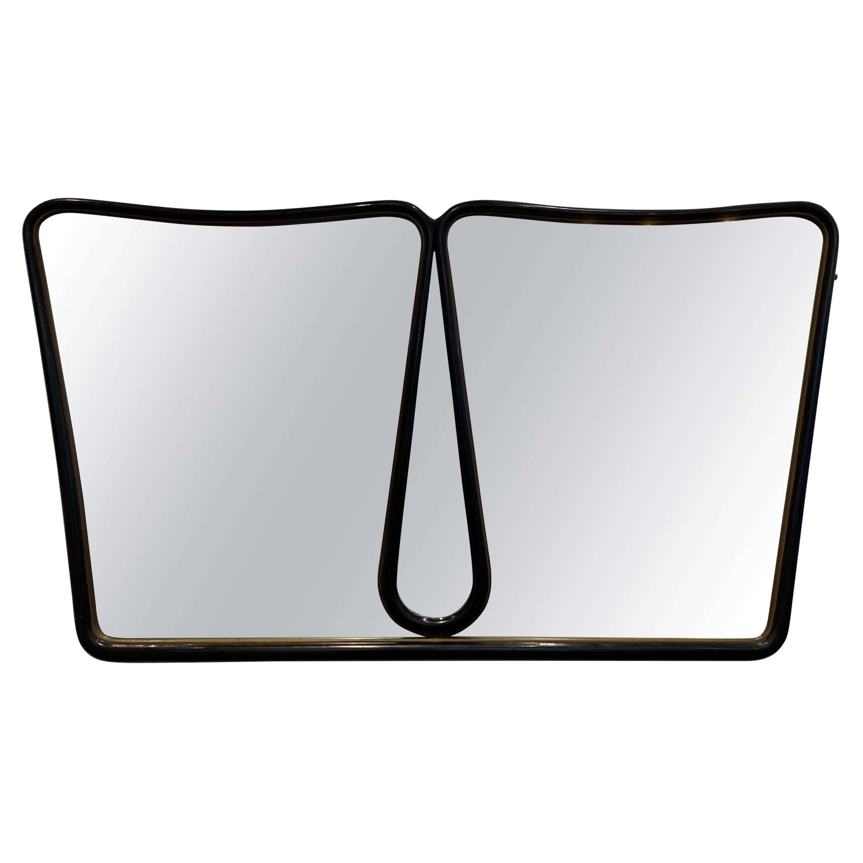 Elegant Italian Mirror, 1940s