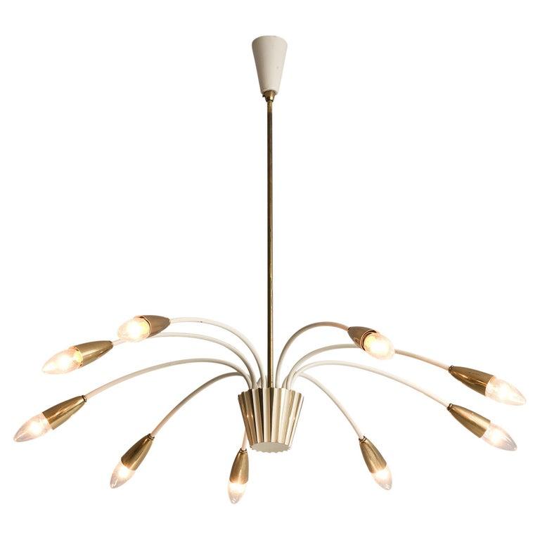 Elegant Italian Pendant in Brass