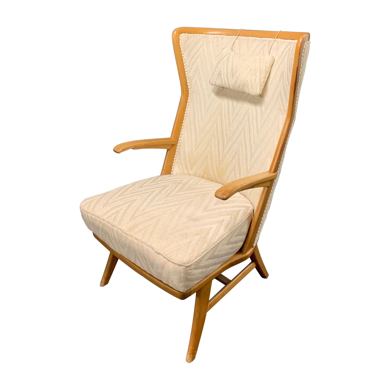 Elegant Italian Lounge Chair