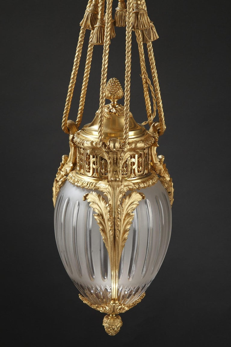 Late 19th Century Elegant Lantern by Millet For Sale