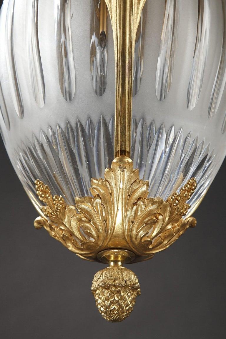 Elegant Lantern by Millet For Sale 1