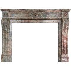 Elegant Louis XVI Style Fireplace