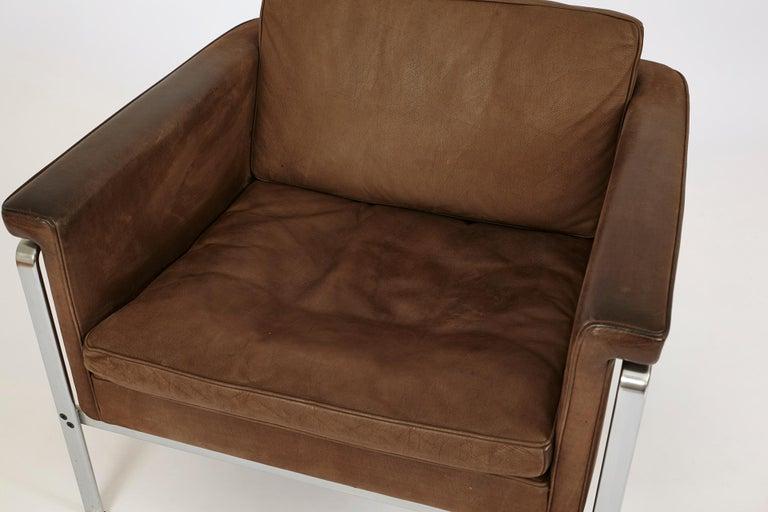 German Elegant Lounge Chair 6911 by Horst Brüning for Kill International For Sale