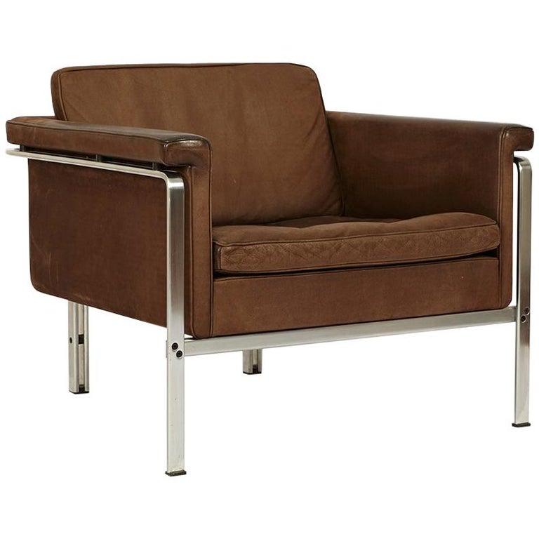 Elegant Lounge Chair 6911 by Horst Brüning for Kill International For Sale