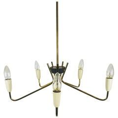 Elegant Mid-Century Modern Sputnik Chandelier, 1960s, Germany