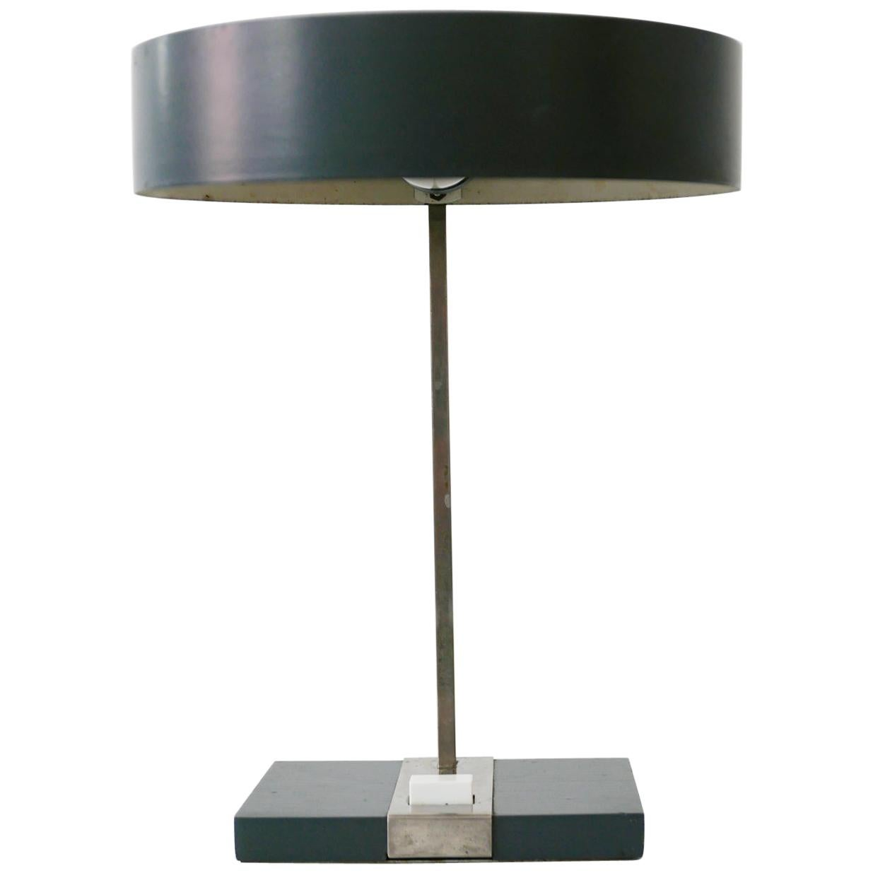 Elegant Mid-Century Modern Table Lamp or Desk Light by Hillebrand, 1960s Germany