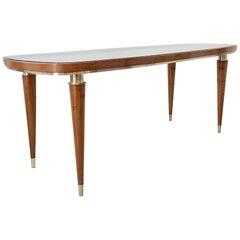 Elegant Midcentury Console Table, circa 1950, Italy