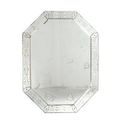 Elegant Octagonal Venetian Mirror