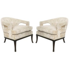 Elegant Pair of Armchairs by T.H. Robsjohn-Gibbings