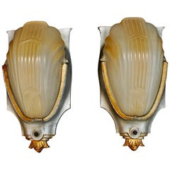 Elegant Pair of Art Deco Sconces