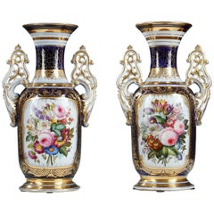 Elegant Pair of Vases