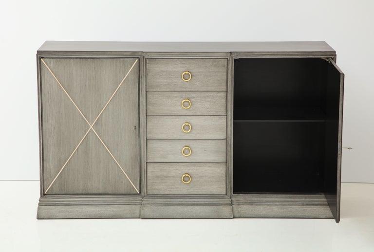 Elegant Parzinger for Charak Cabinet For Sale 4