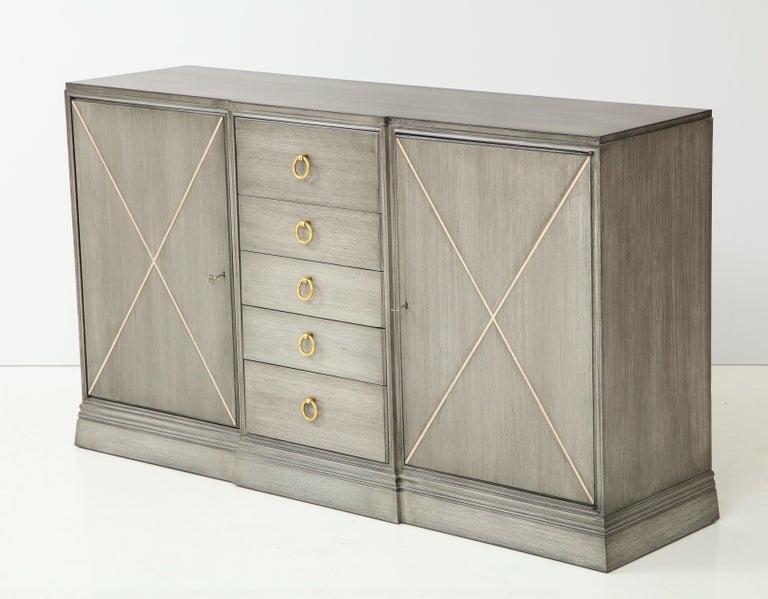 Mid-Century Modern Elegant Parzinger for Charak Cabinet For Sale