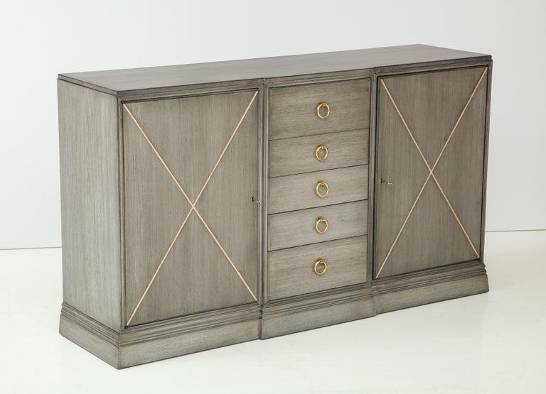 American Elegant Parzinger for Charak Cabinet For Sale