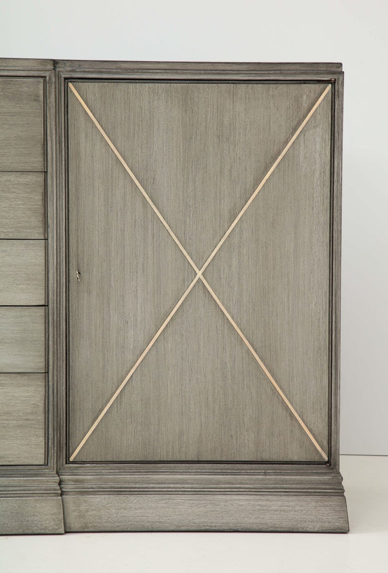 Elegant Parzinger for Charak Cabinet In Excellent Condition For Sale In New York, NY