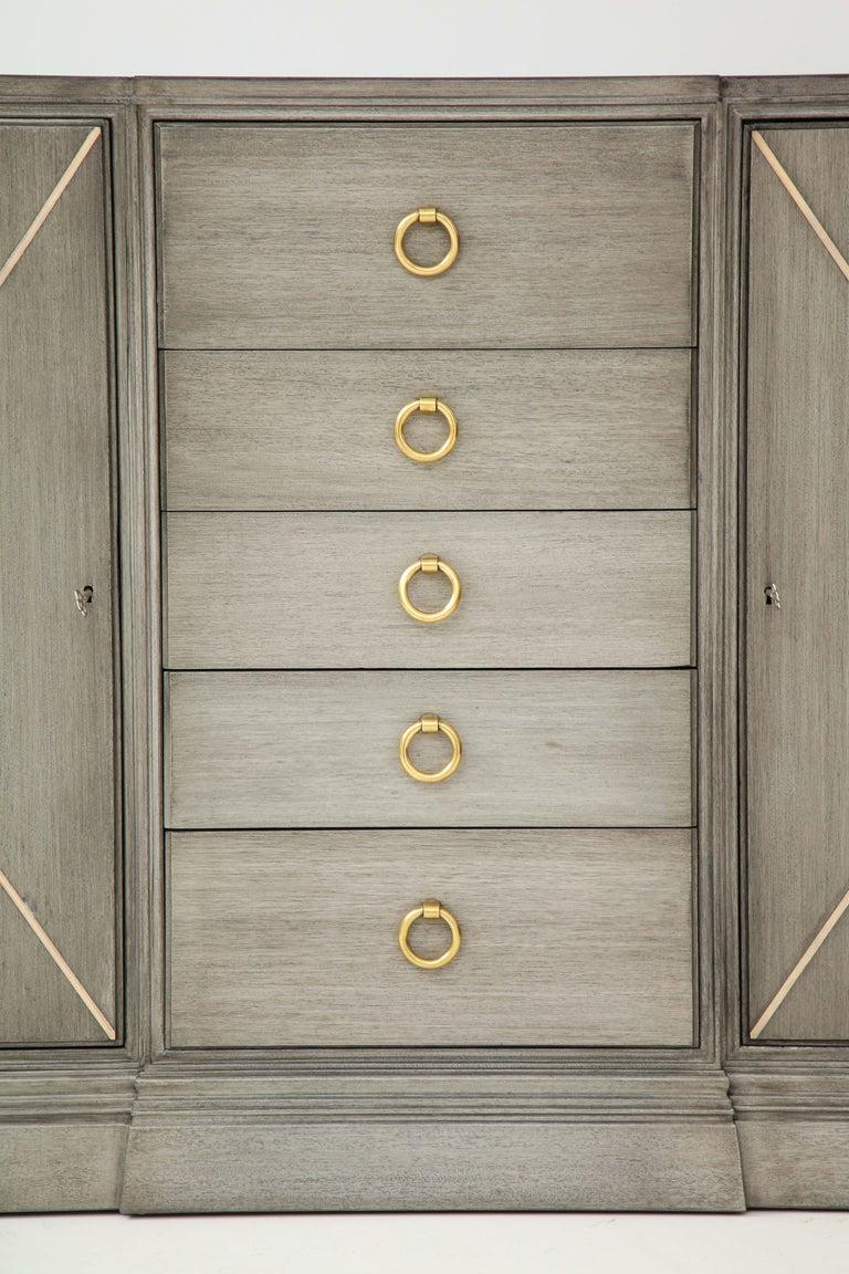 Mid-20th Century Elegant Parzinger for Charak Cabinet For Sale