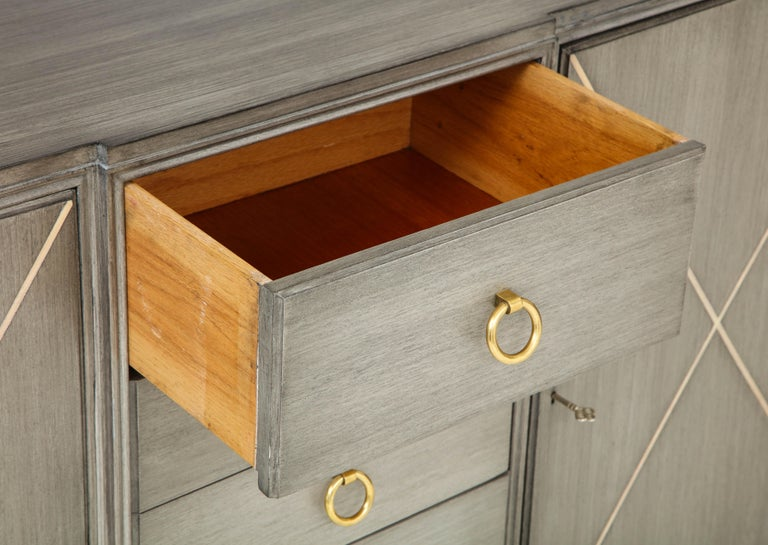 Elegant Parzinger for Charak Cabinet For Sale 2