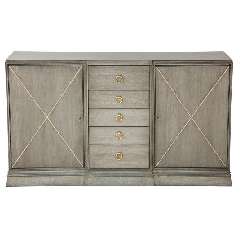 Elegant Parzinger for Charak Cabinet For Sale