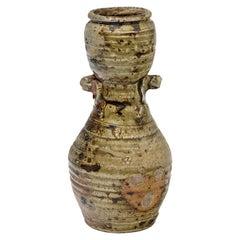 Elegant Primitve Grey Ceramic Vase by Steen Kepp La Borne, circa 1975