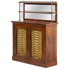 Elegant Regency Rosewood Chiffonier, Great Form and Proportions