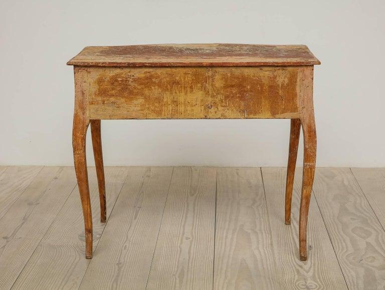 Elegant Rococo Pier Table with Drawer, Origin: Sweden, Circa 1760 For Sale 2