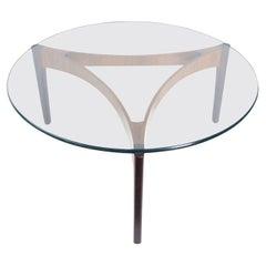 Elegant Rosewood Coffee Table by Sven Ellekaer for C. Linneberg, Denmark, 1960