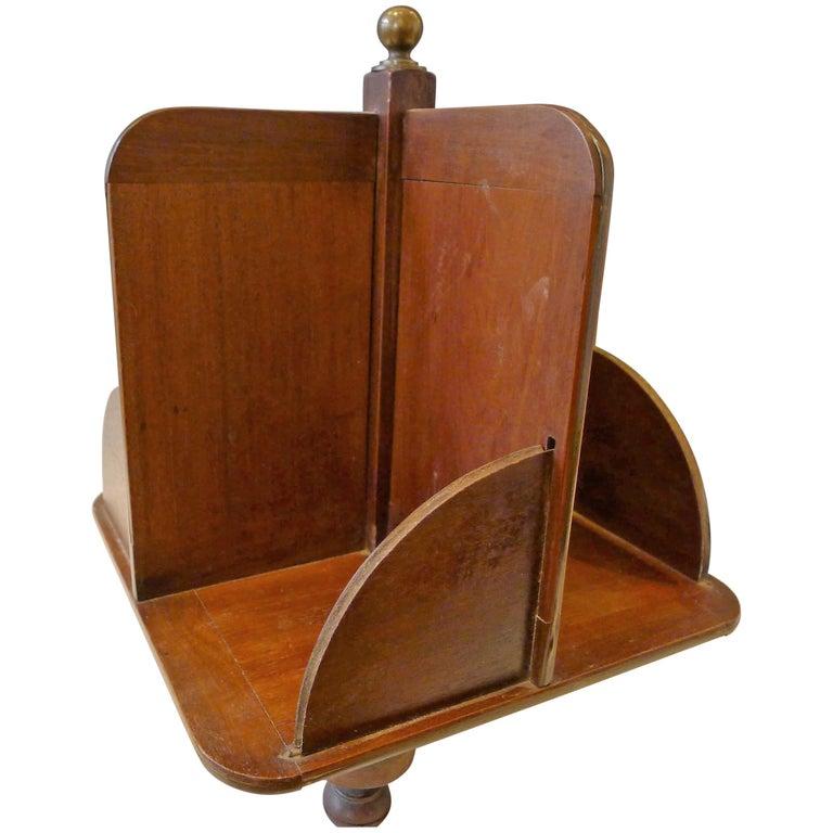 Elegant Rotative Bookcase, 19th Century For Sale
