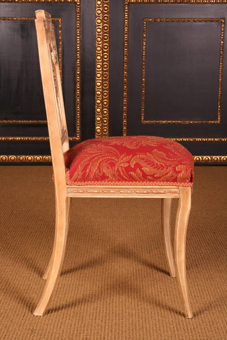 Elegant Seating Group in the Classicist Style For Sale 2