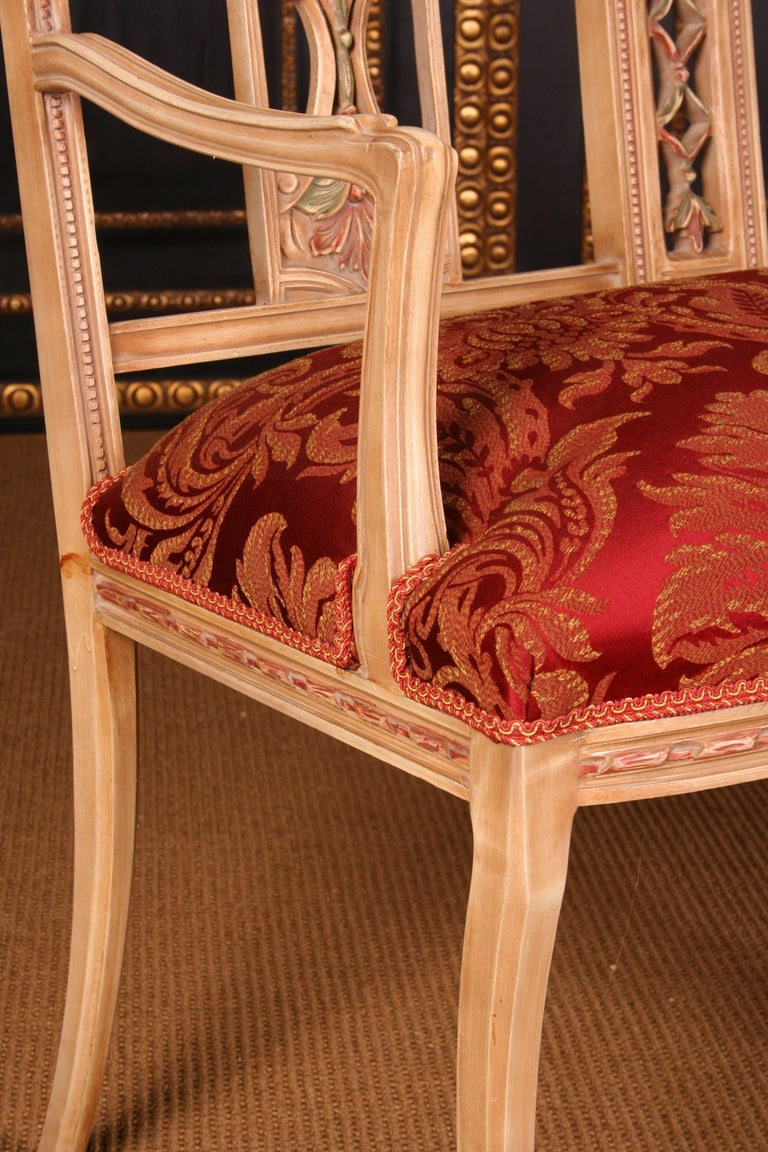 French Elegant Seating Group in the Classicist Style For Sale