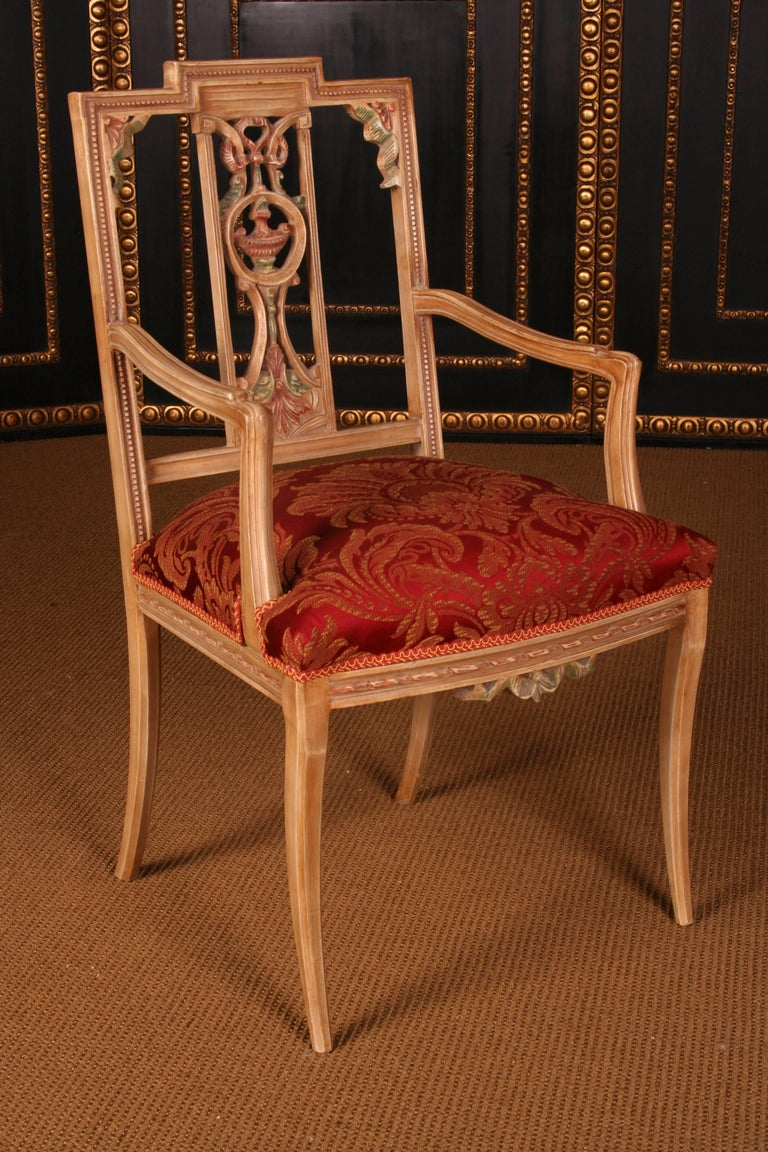 Elegant Seating Group in the Classicist Style For Sale 1