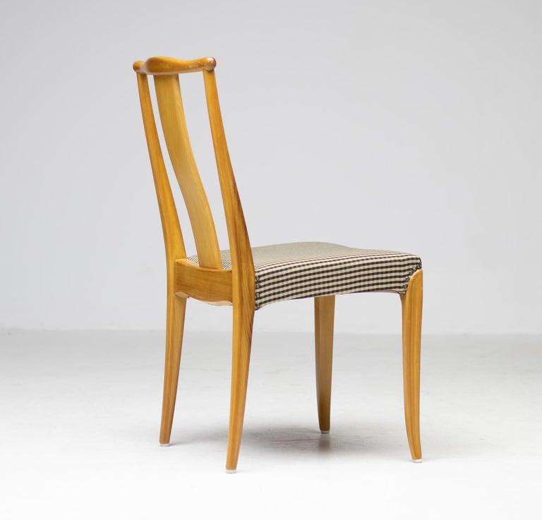 Swedish Elegant Set of Nordiska Kompaniet Dining Chairs For Sale