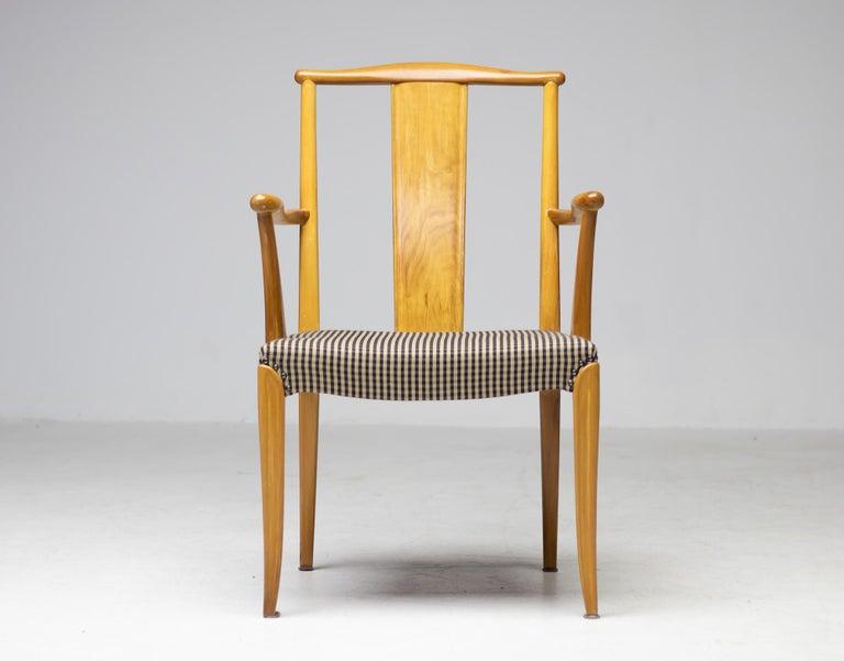 Elegant Set of Nordiska Kompaniet Dining Chairs In Good Condition For Sale In Dronten, NL