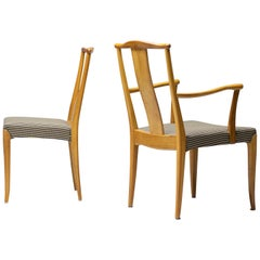 Elegant Set of Nordiska Kompaniet Dining Chairs