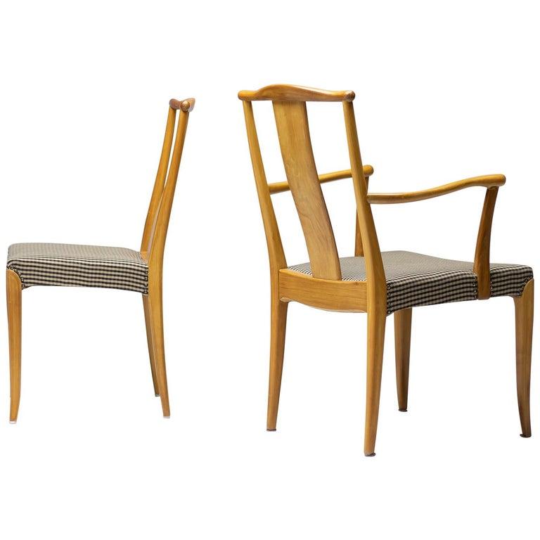 Nordiska Kompaniet dining chairs, 1950, offered by MY MODERN