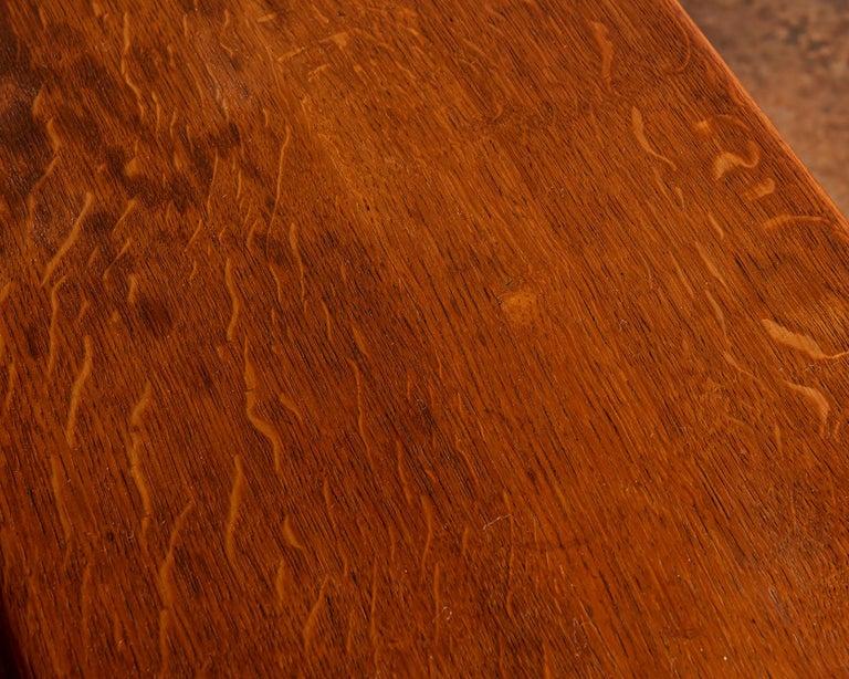Elegant Side Table in Oak by Fritz Hansen, Denmark, 1940s 2