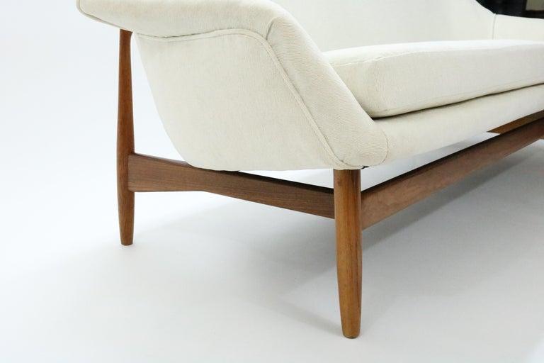 Sofa by Ib Kofod-Larsen for Carlo Gahrn For Sale 3