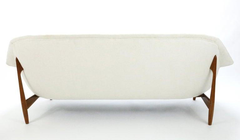 Mid-Century Modern Sofa by Ib Kofod-Larsen for Carlo Gahrn For Sale