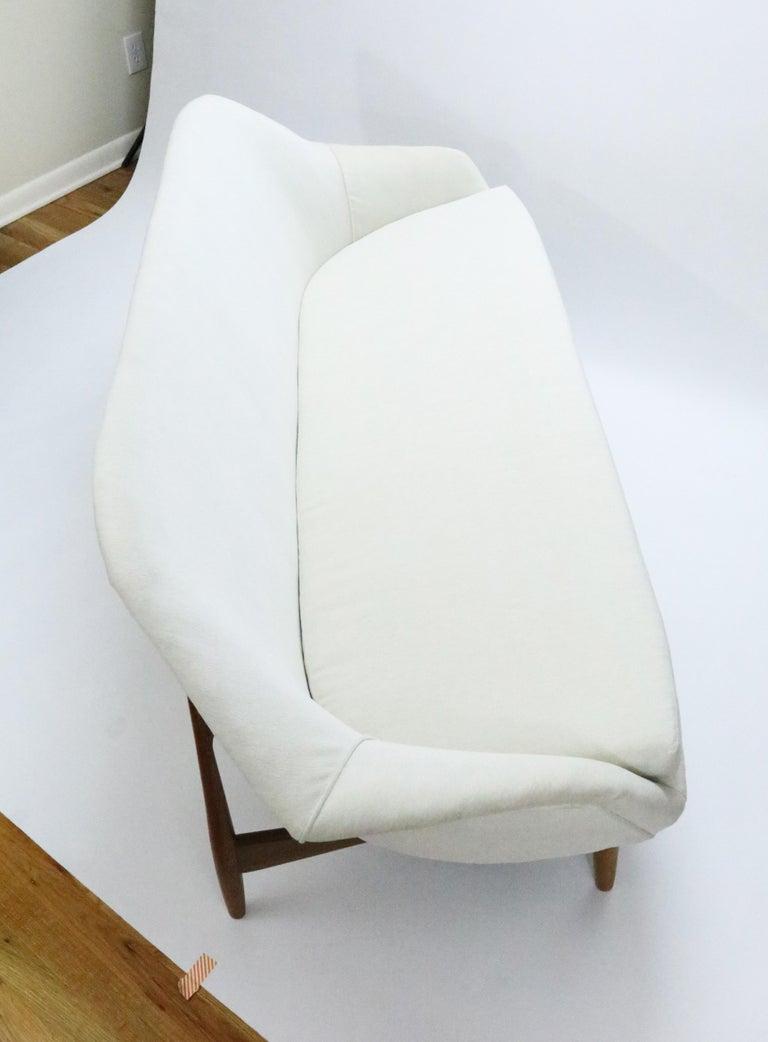 Danish Sofa by Ib Kofod-Larsen for Carlo Gahrn For Sale
