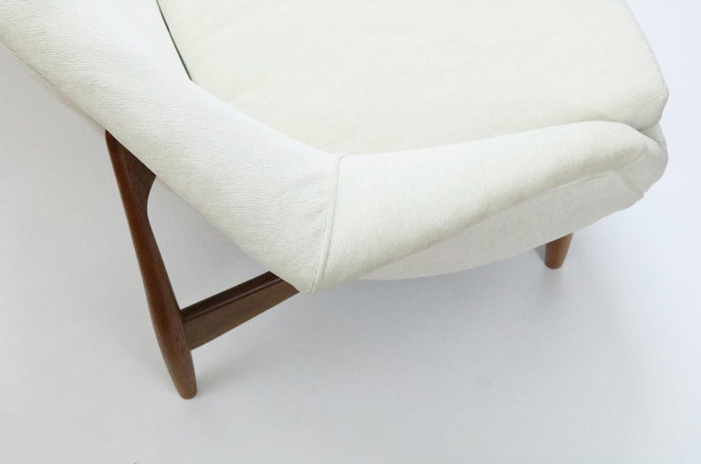 Sofa by Ib Kofod-Larsen for Carlo Gahrn In Excellent Condition For Sale In Denver, CO