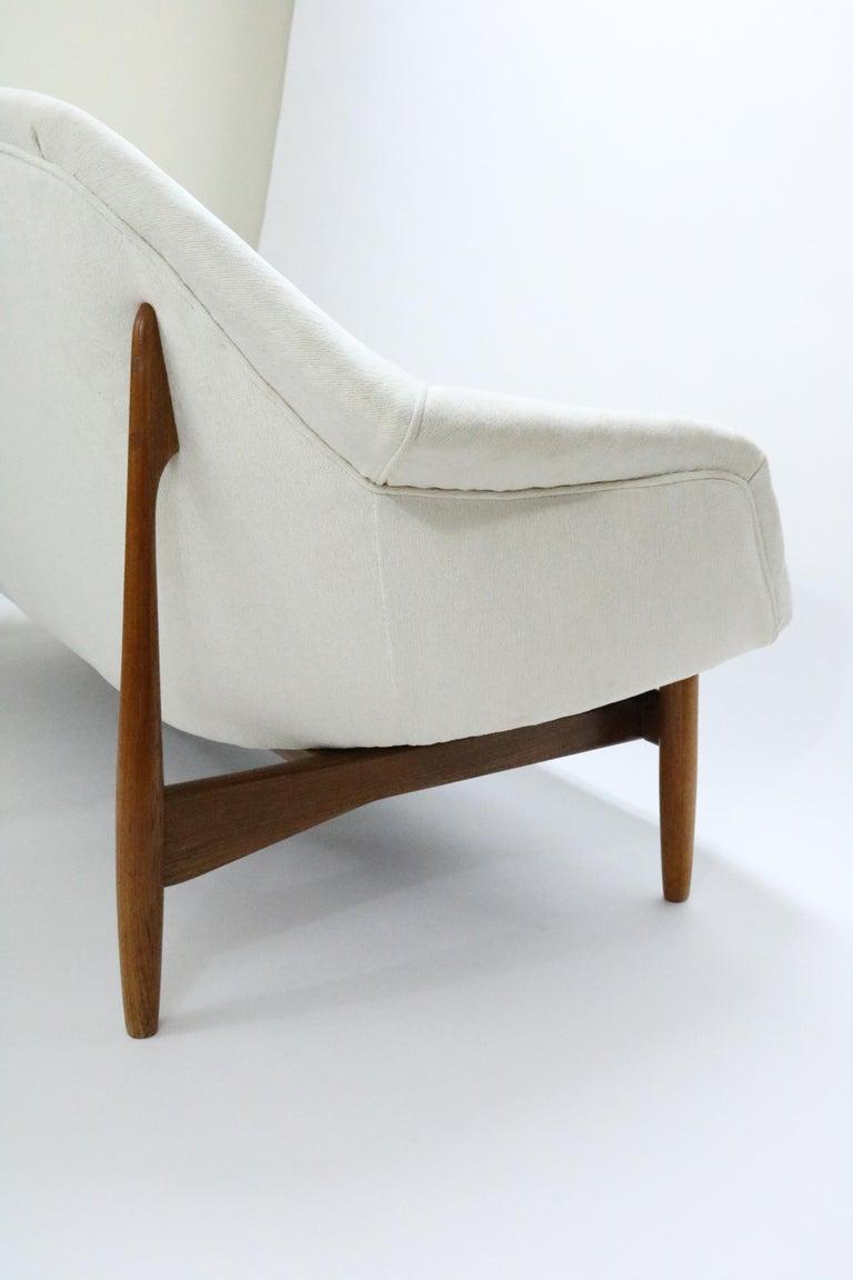 Mid-20th Century Sofa by Ib Kofod-Larsen for Carlo Gahrn For Sale