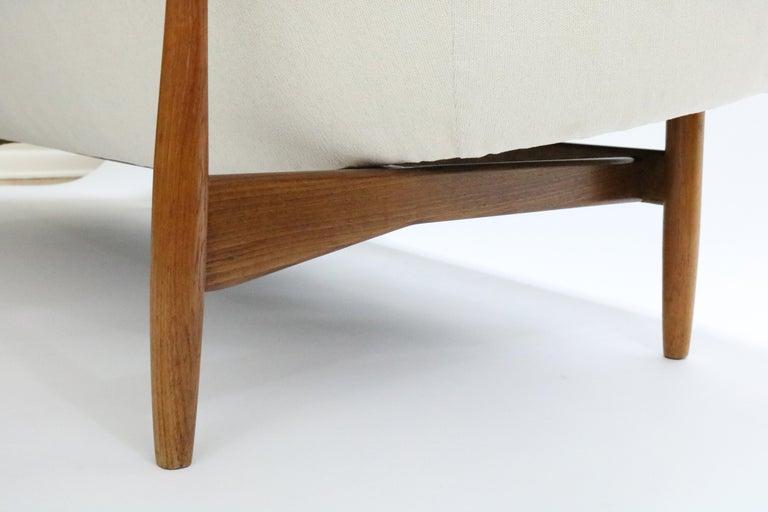 Sofa by Ib Kofod-Larsen for Carlo Gahrn For Sale 1