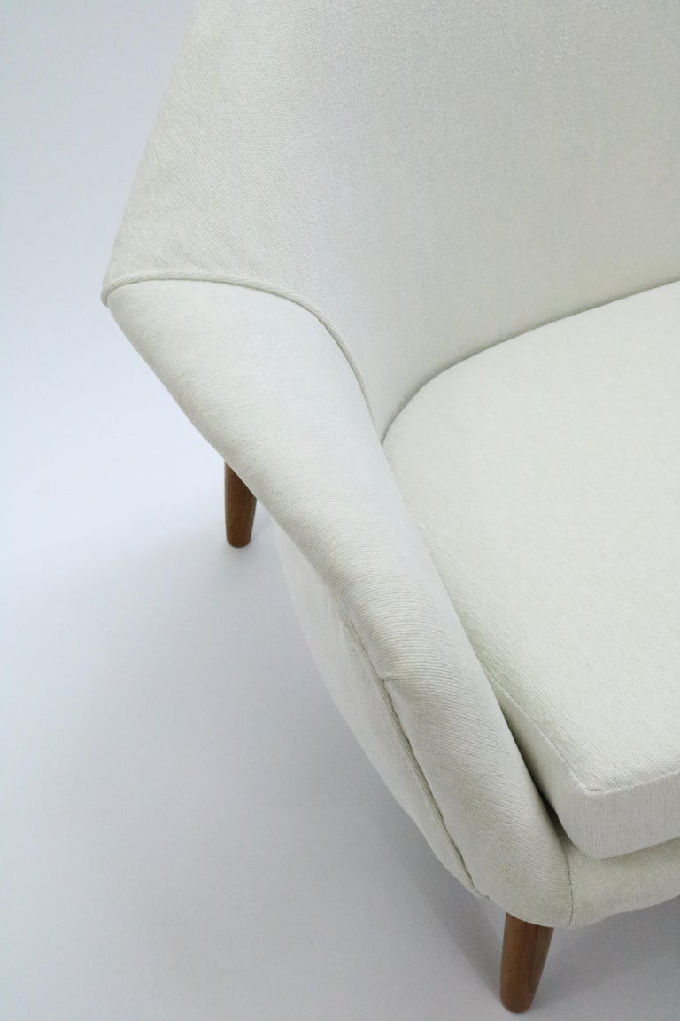 Sofa by Ib Kofod-Larsen for Carlo Gahrn For Sale 2