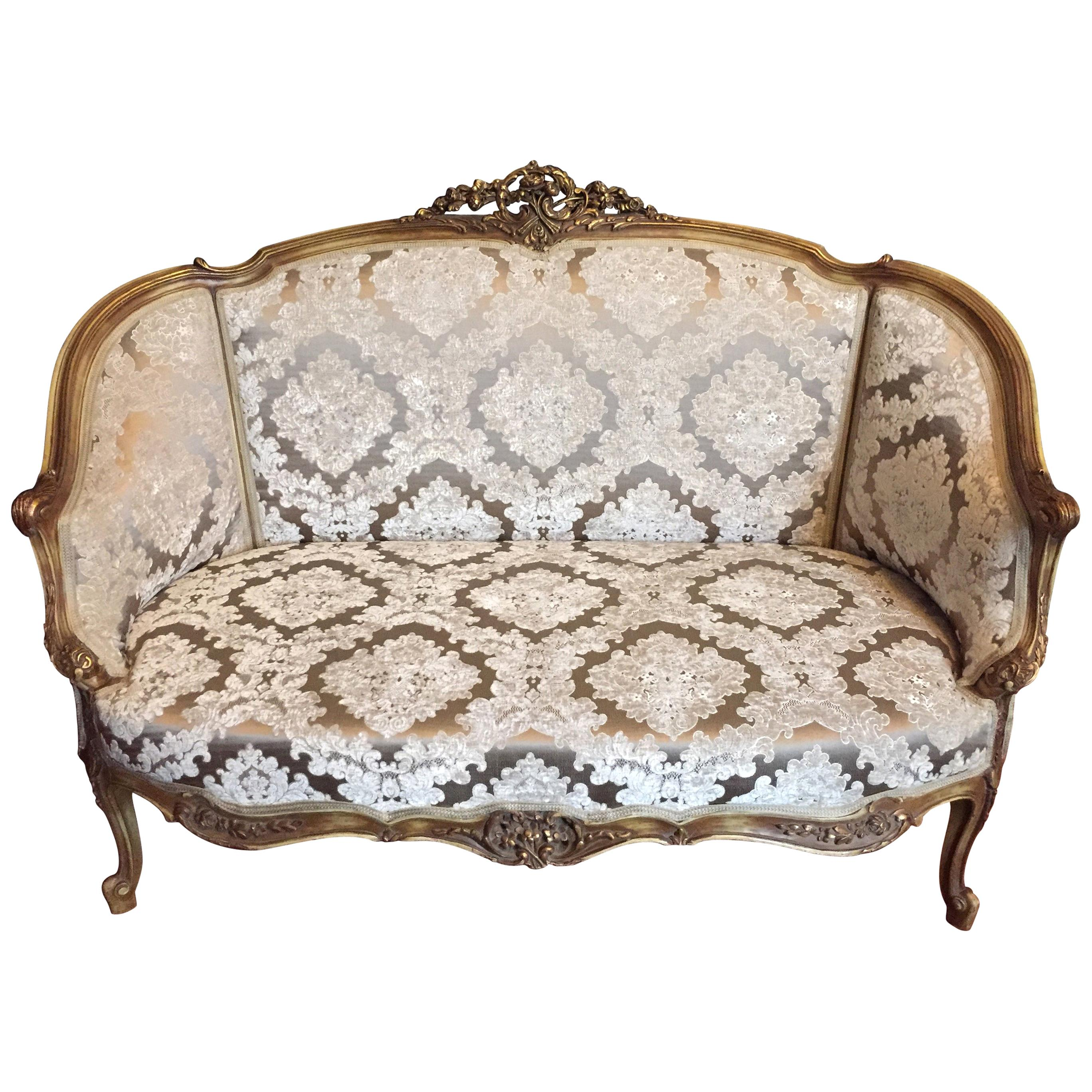 Elegant Sofa, Canapé, Couch in Louis XV Style