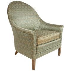 Elegant Spoon Back Romweber Lounge Chair