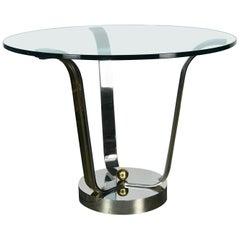 """Elegant """"Tulip"""" Center Table by Karl Springer"""
