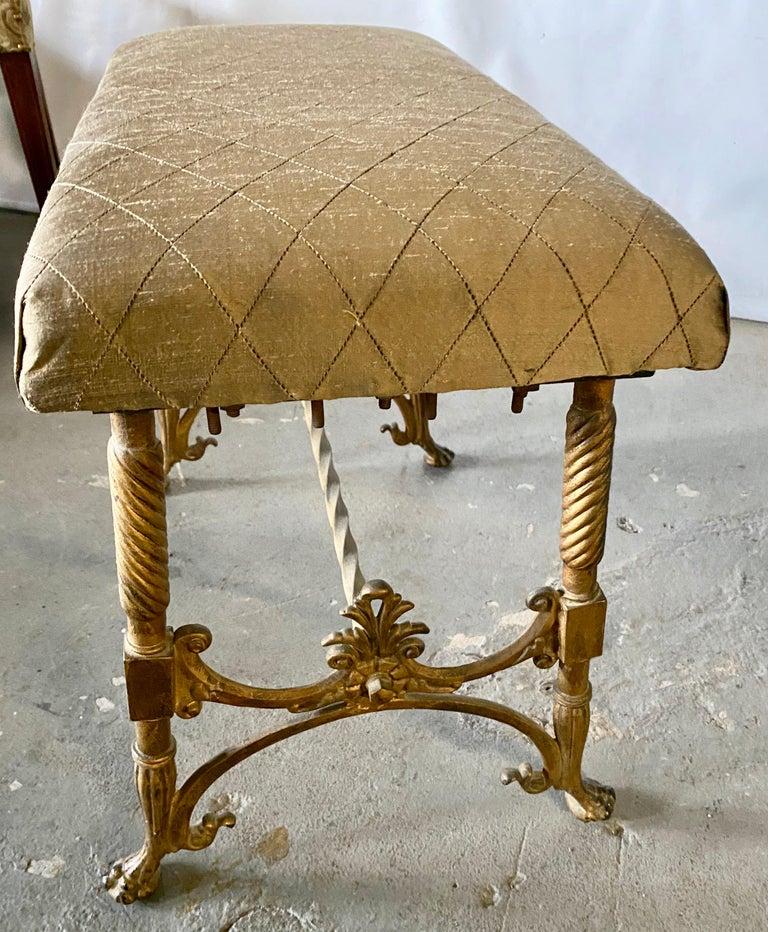 Elegant Vanity Seat or Bench For Sale 1