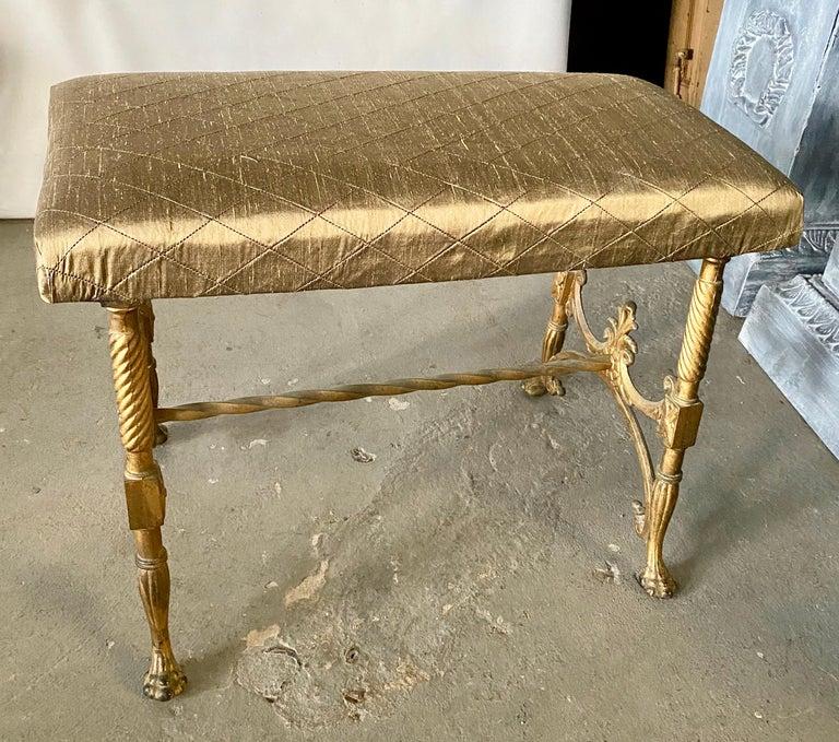 Elegant Vanity Seat or Bench For Sale 2