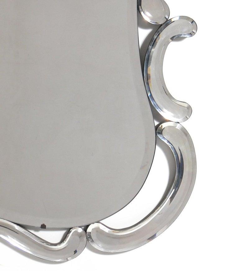 Hollywood Regency Elegant Venetian Mirror For Sale